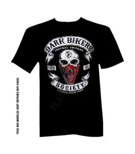 T-Shirt Dark Bikers Society DBS BANDANA