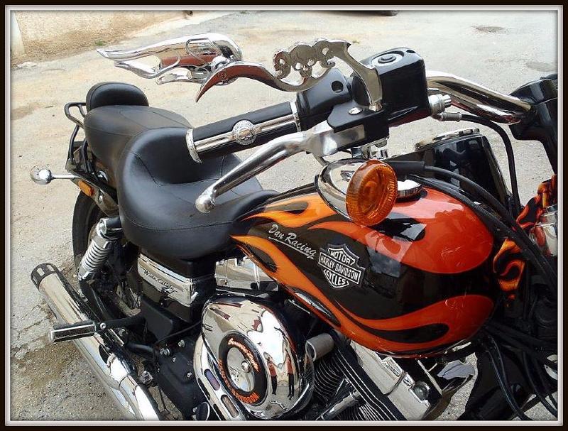 retro chrom kopf von tod sch del 3d moto trike spiegel. Black Bedroom Furniture Sets. Home Design Ideas