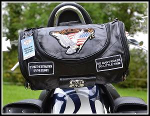 Sac sissi bar en Cuir Souple Aigle / Live To Ride