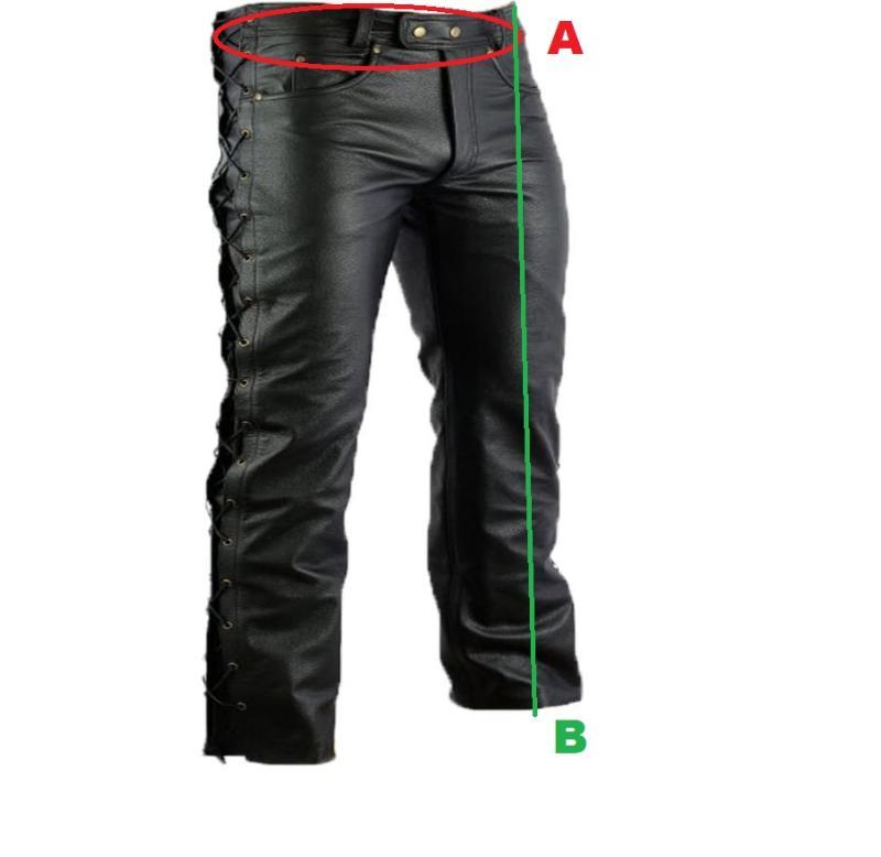 a1e512948a8 SUR MESURE - Pantalons en Cuir Homme ou Femme