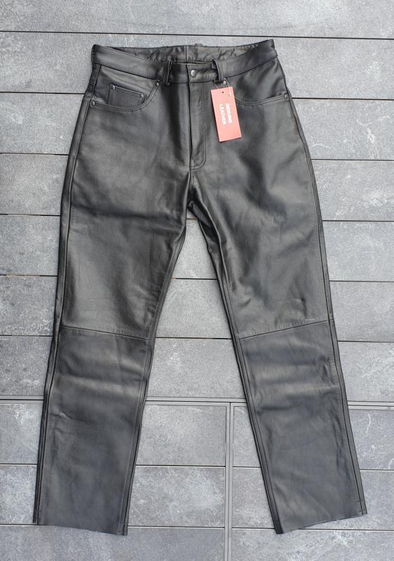 Homme Cuir 42 Pantalon Sans En Lacets 44bikers Taille zSUMpV