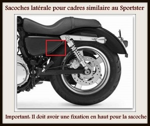 Pour cadre similaire aux Harley Sportster