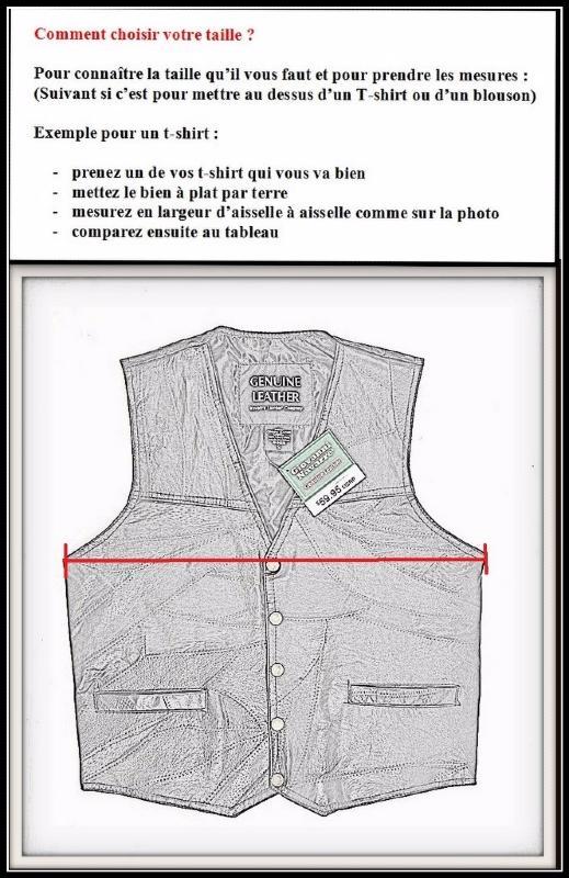 Grande taille { S à 7XL }  biker country Gilet jacket en cuir sans manches