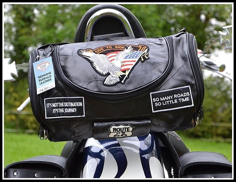 Bar Sac Souple Custom Live To Aigle Moto Cuir Ride En Sissi ffqx1P