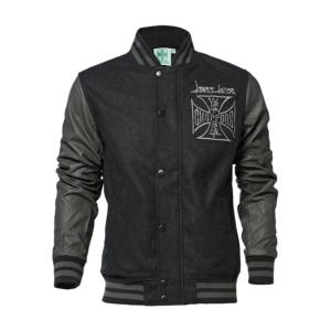 Blouson Noir & Gris West Coast Choppers WCC