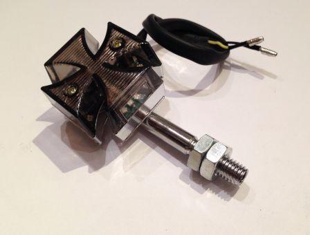 x2 sztuk 1 para miga dioda attraversare da malta black motocykl trike harley ebay. Black Bedroom Furniture Sets. Home Design Ideas
