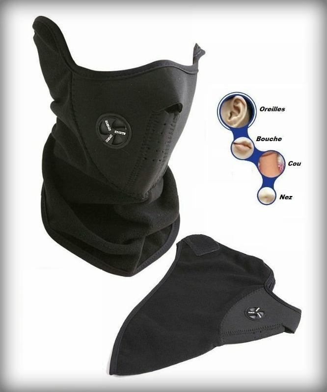 Cagoule cache nez masque protection pour moto v lo ski snow etc - Cache nez decathlon ...
