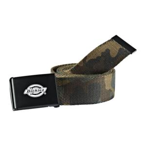DICKIES : Ceinture Polyester couleur Camouflage Camo marque Dickies