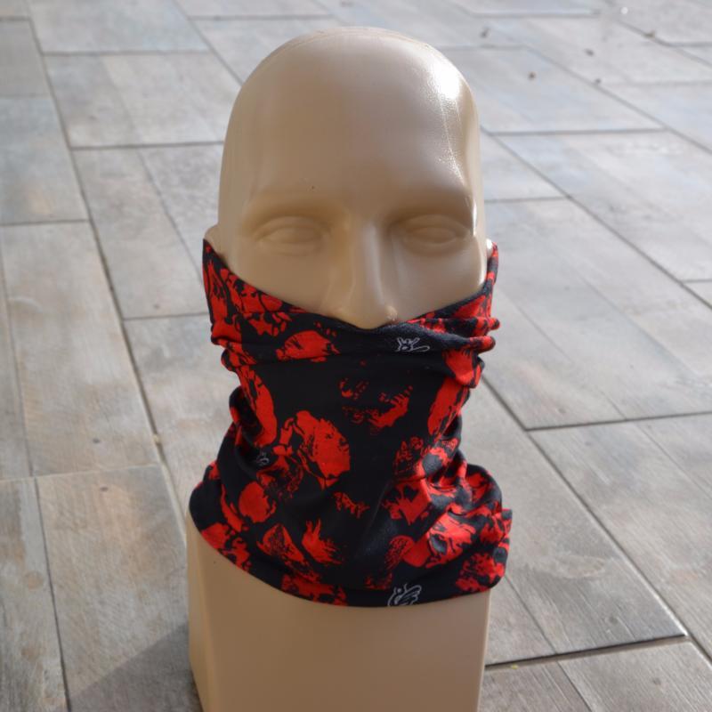cagoule cache cou prot ge red skull ji 7506 moto ski v lo biker ebay. Black Bedroom Furniture Sets. Home Design Ideas