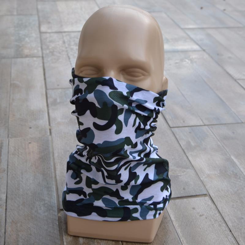 tour de cou de protection camouflage kaki id al moto v lo ski chasse etc. Black Bedroom Furniture Sets. Home Design Ideas