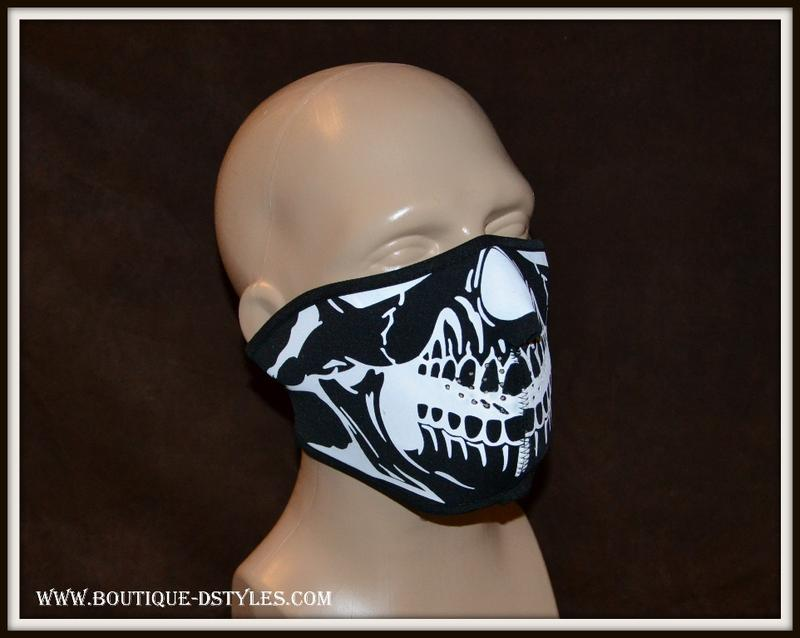 cagoule masque de protection squelette t te de mort headskull. Black Bedroom Furniture Sets. Home Design Ideas