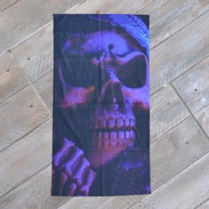 "Tour de cou de protection "" Purple Skull "" JI-5065"