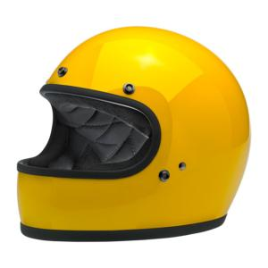 DESTOCKAGE casque BILTWELL GRINGO DOT JAUNE
