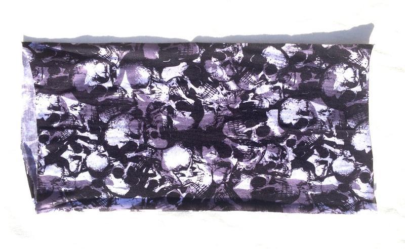 tour de cou de protection head skull id al pour moto. Black Bedroom Furniture Sets. Home Design Ideas
