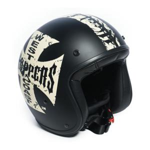 Casque Jet West Coast Choppers WCC Gangscript