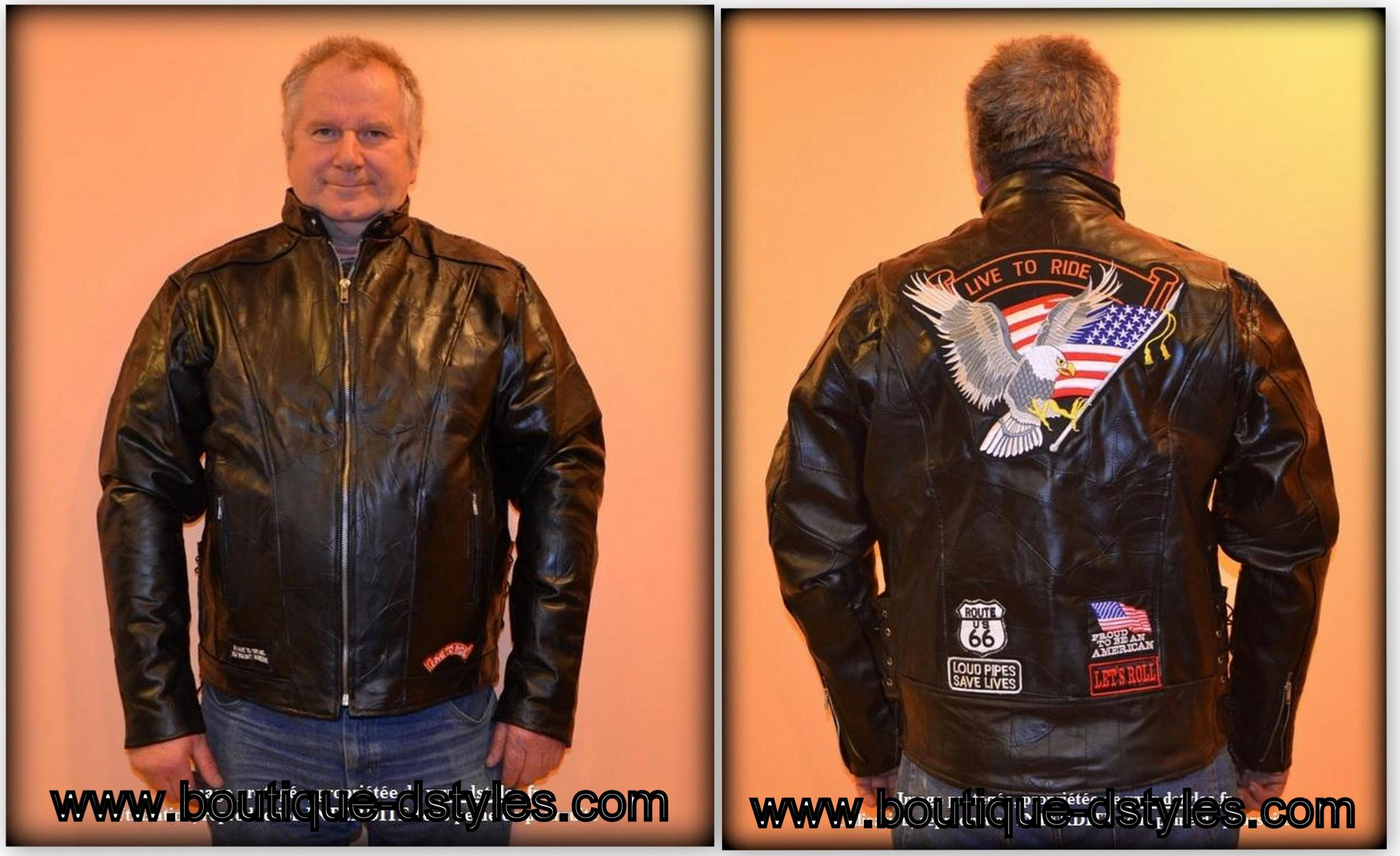 blouson jacket aigle live to ride s m l xl 2x 3x 4xl. Black Bedroom Furniture Sets. Home Design Ideas