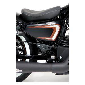 CULT-WERK - Protége courroie Court pour Harley sportster ( iron forty nightster XL 48 ect ..)